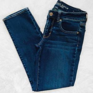 American Eagle Mid-Rise Straight Jeans